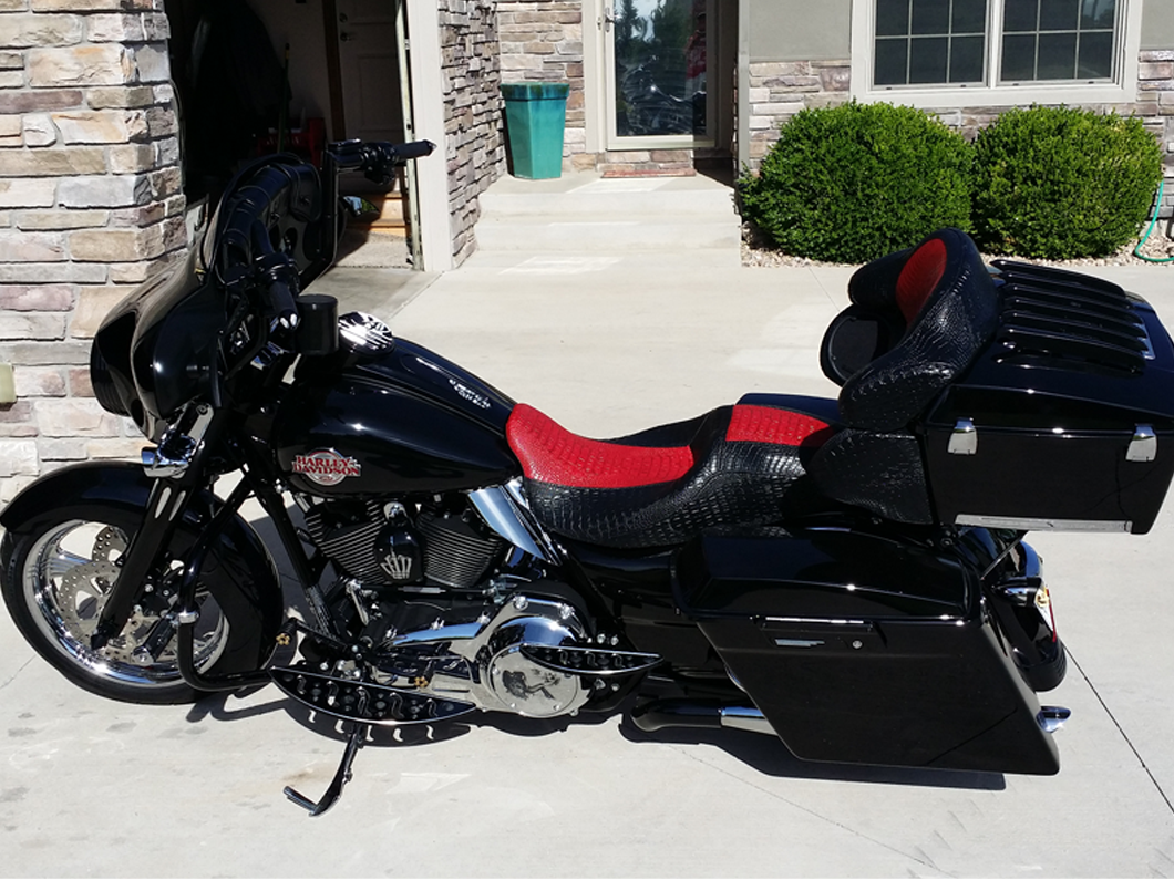 Motorcycle Upholstery Repair Fort Collins Larimer